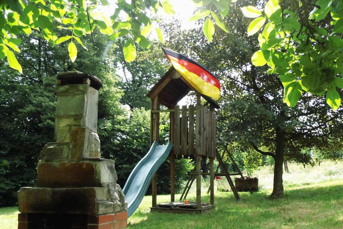 Spielplatz im Grünen